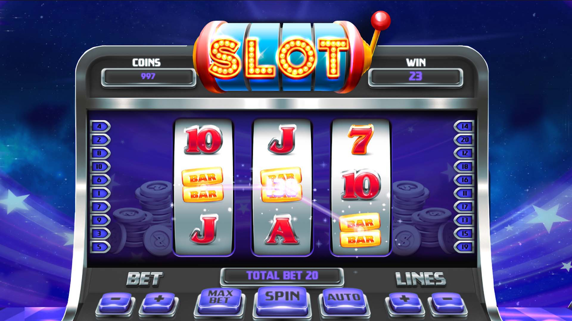 How to win on slots at the online casino